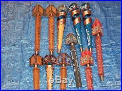 107 Beer Tap Handles Large Collection Sam Adams IPA Harpoon Troegs