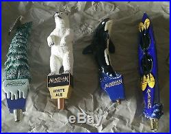 4 Alaskan Brewing Company Beer Tap Handles Hard to find Free Shipping