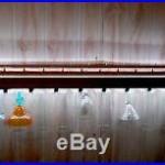 4' REMOTE LIGHTED 29 BEER TAP HANDLE DISPLAY BEER GLASS DISPLAY 2-way lighting