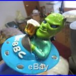 Alien Amber Ale Beer Tap Knob Handle Rare Martian In Space Ship Brewery Bar Pub