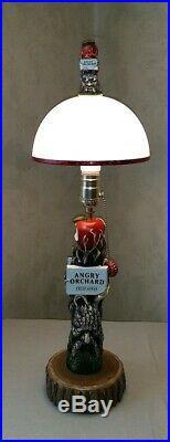 Angry Orchard Crisp Apple Beer Tap Handle Lamp Bar Light Pub Barware Lamps New