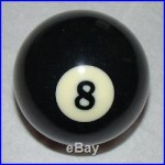 Any Pool Ball Beer Keg Tap Handle Kegerator New Real Billiard Ball Man Cave