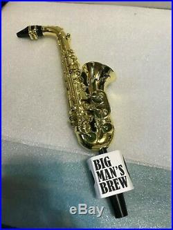 BIG MAN'S BREW HAZY GROOVE beer tap handle. NEW JERSEY