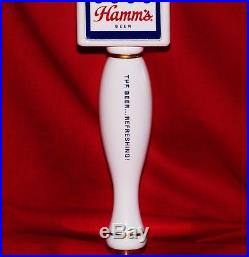 BRAND NEW IN THE BOX RARE HAMMS BEER BEAR TAP HANDLE with 25 VINTAGE COASTERS