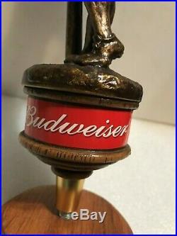 BUDWEISER BASEBALL beer tap handle. St. Louis, Missouri