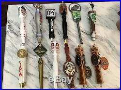 Beer Draft Tap Handles 12 Total Yuengling Bison Saranac Killians Coors Light NFL