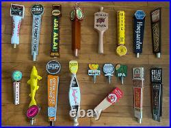 Beer Handle Tap Lot 15 Craft Seasonal Local Dogfish Sierra Lagunitas Otter Creek