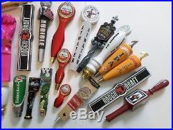 Beer Keg Tap Handle Lot 27 New and Used Red Hook Bass Abita Leinie Southern Tier