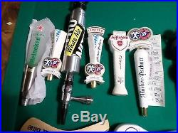 Beer Keg Tap Handle Lot New & Used Game of Thrones Horny Goat Budweiser Labatts
