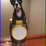 Beer Tap Handle 4 Paws Brewing Boxer
