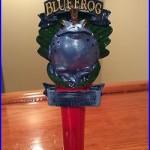 Beer Tap Handle Blue Frog