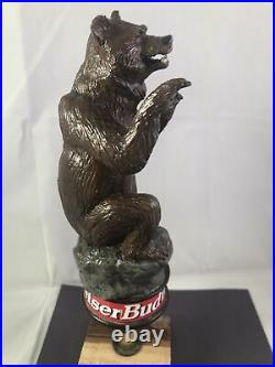 Beer Tap Handle Budweiser Bear Beer Tap Handle Rare Figural Bear Tap Handle A