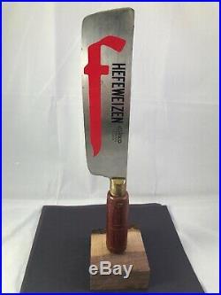 Beer Tap Handle Butcher Knife Brewing Beer Tap Handle Rare Figural Tap Handle