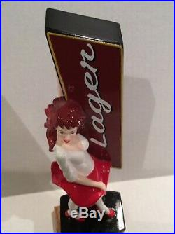 Beer Tap Handle Central City Red Racer