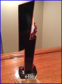 Beer Tap Handle Central City Red Racer Canadian Brewery Nascar Nhra