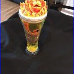 Beer Tap Handle Chameleon Brewing Fire Light RARE (Read Desc. Internal Defects)