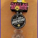 Beer Tap Handle Dallas Blonde Deep Ellum