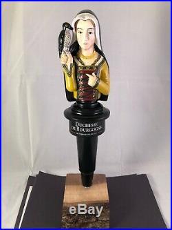 Beer Tap Handle Duchesse De Bourgogne Tap Handle Rare Figural Beer Tap Handle