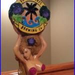 Beer Tap Handle Florida Keys Brewing Mermaid Girl