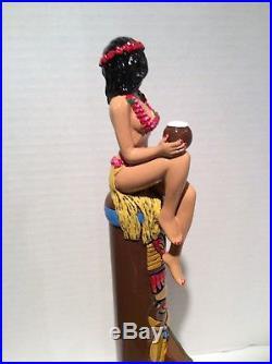 Beer Tap Handle Hawaiian Hula Girl