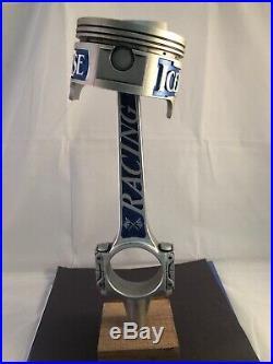 Beer Tap Handle Icehouse Racing Piston Beer Tap Handle Rare Figural Tap Handle