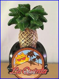 Beer Tap Handle La Quinta Beer Tap Handle Rare Figural Pineapple Beer Tap Handle