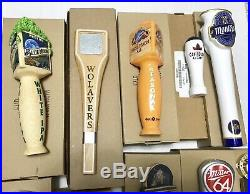 Beer Tap Handle Lot Of 12 Brand New In Boxes Red Hook Miller Blue Moon