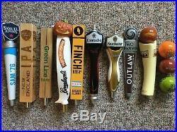 Beer Tap Handle Lot Of 9