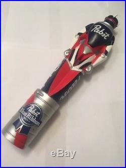 Beer Tap Handle Pabst Kegatron Beer Tap Handle PBR Art Series Robot Beer Tap