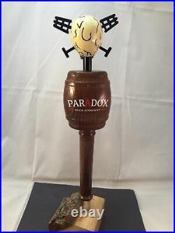 Beer Tap Handle Paradox Beer Tap Handle Rare Figural Skull Beer Tap Handle