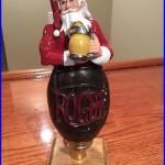 Beer Tap Handle Rogue Santa