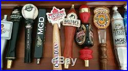 Beer Tap Handles (20) Collection Rare New & Used Bud, Miller
