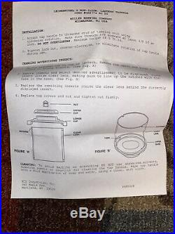 Beer Tap Leinenkugel's Lantern Handle with 6 labels Brand New in Original Box