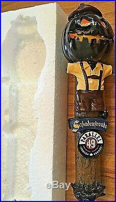 Beer Tap Parallel 49 Schadenfreude Pumpkin Handle Brand New in Original Box