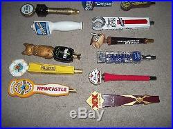 Beer Tap Pull Handles Lot Leinenkugels, Curious traveler, batch 19, 17 Total