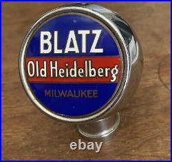 Blatz Old Heidelberg Beer Tap handle Knob