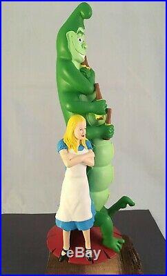 Bogart Beer Tap Handle Ultra Rare Figural Alice In Wonderland Beer Tap Handle