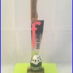 Butcher Knife Brewing Beer Tap Handle Rare Figural Beer Tap Handle Butcherknife