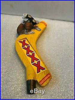 CASTLEMAINE XXXX KOALA beer tap handle. Australia