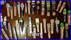 COLLECTORS LOT 36pcs. All PNW Beer Tap Handles. Deschutes Widmer BridgePort