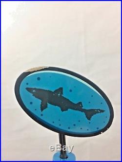 Dogfish Head 2013 IPA Mazza Uber Shark Draft Beer Keg Tap Handle Very Rare