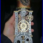 Dogfish Head Steampunk Figural Beer Tap Handle! Rare, Great Condition