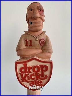 Drop Kick Ale Beer Tap Handle