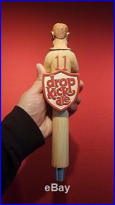 Extremely Rare Weston Brewery, Mo. Drop Kick Ale Beer Tap Handle