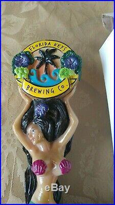 Florida Brewing Co. Mermaid Beer Tap Handle