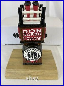 Gordon Biersh Don Gordo Lucha Libre Beer Tap Handle New in Box