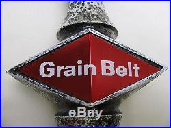 Grain Belt Beer Tap, Vintage, Metallic Large Handle From Minnesota Brewery RARE