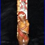 Granville Island Brewing GINJA NINJA Ginger Beer 11 Figural Tap Handle Used