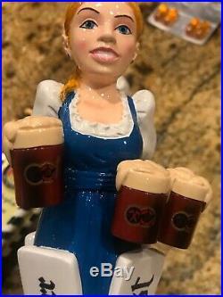 Hacker Pschorr & Paulander Octoberfest Beer Maiden Beer Tap Handle 11