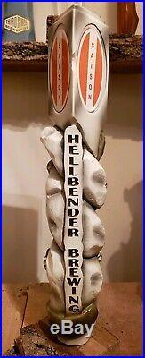 Hellbender Brewing Beer Tap Handle